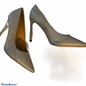Diba sparkly silver heels